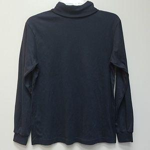 Vintage Made in USA Black Turtleneck Shirt